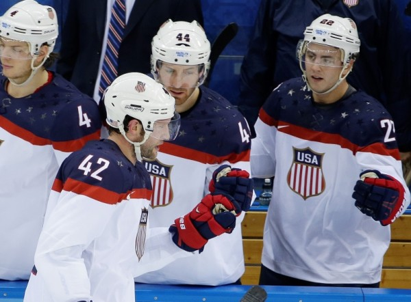 Offensive fireworks on display during U.S.' 7-1 victory over Slovakia