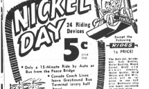 Aug. 28, 1960: Nickel Day at Crystal Beach isn't quite as cheap as it sounds