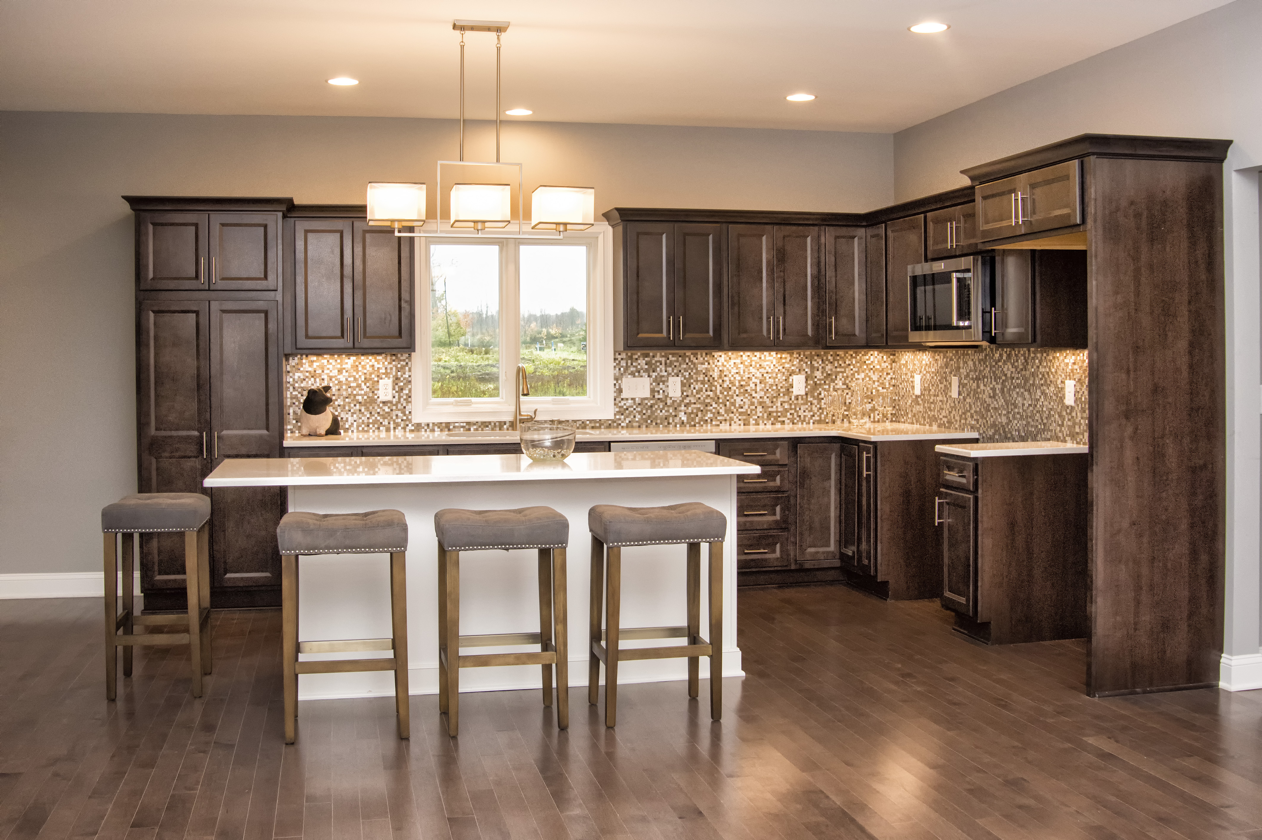 Kitchen Snack Bar Featured Home Walnut Grove Apartment Homes Begins Leasing