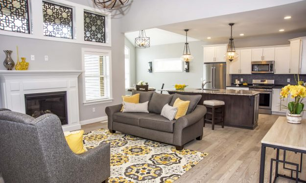Featured home: Chateau sports volume ceilings
