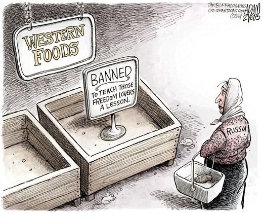 Putin's food ban