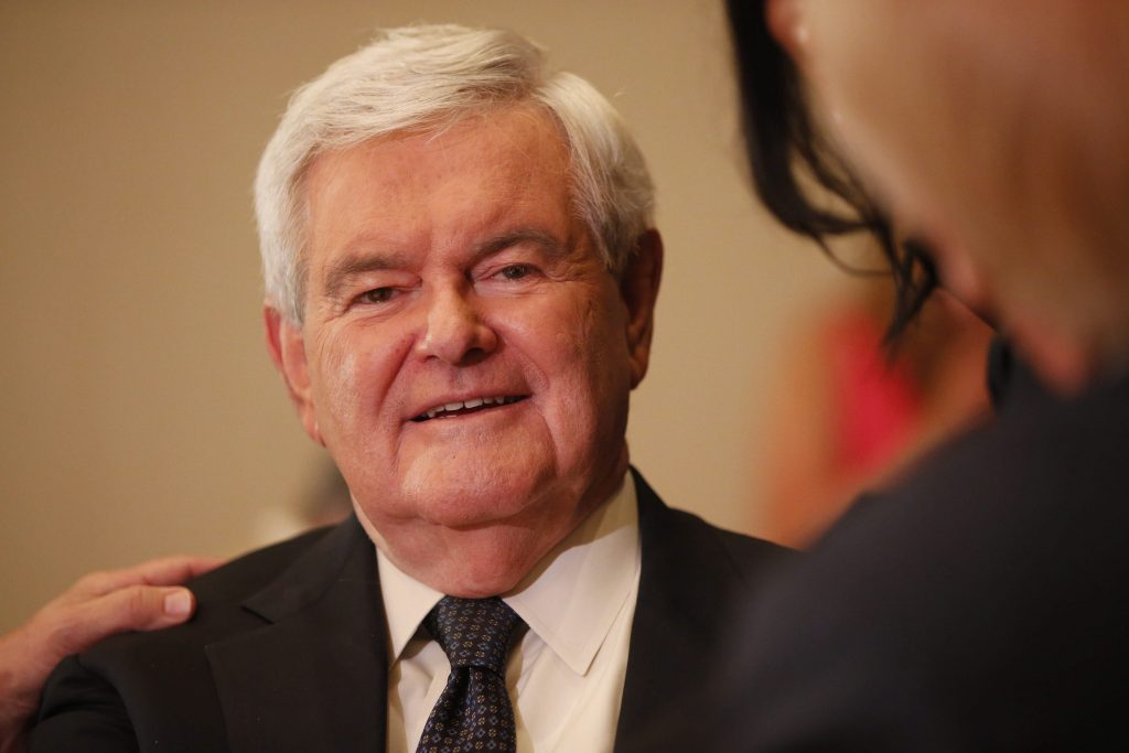 Newt Gingrich: 'Who cares' if Melania Trump plagiarized Michelle Obama