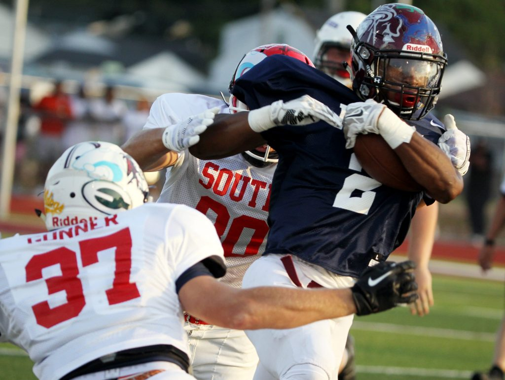 Rivals cheer each other in all-star football classic