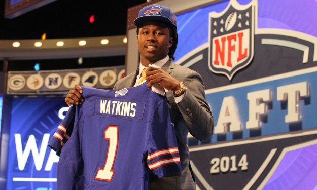 Bills swing 'last-minute' deal to draft Clemson WR Sammy Watkins fourth overall