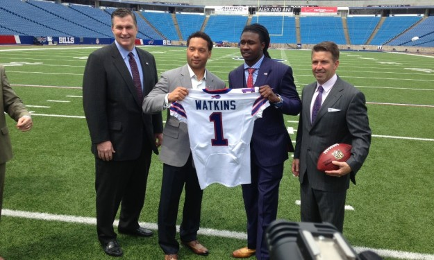 New Bill Sammy Watkins: My mentality is to score every play