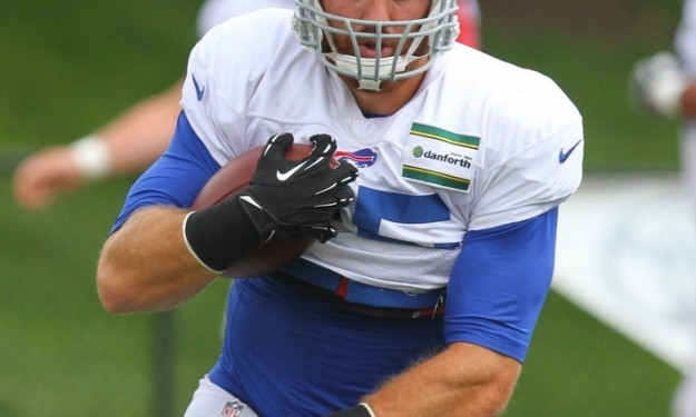 Bills notebook: Only two tight ends healthy for game against Giants