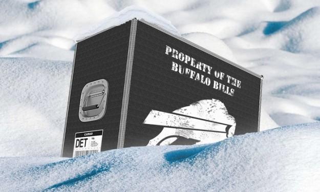Cast adrift by weather, Bills plow ahead