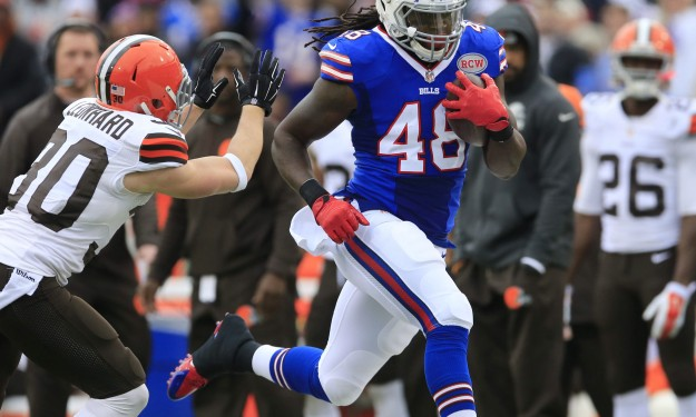 Tight end Gray thinks he's found safe landing with Bills