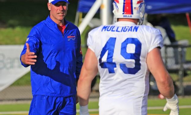 Bills' Kromer happy to be back on the job