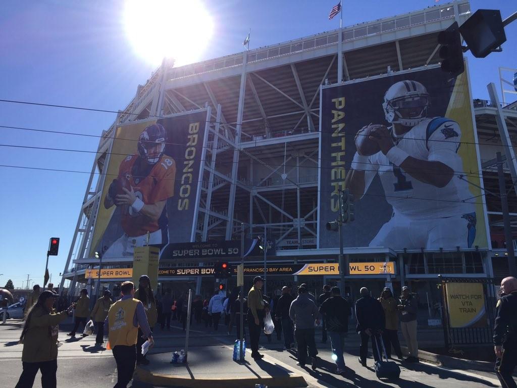 Live coverage of Super Bowl 50: Carolina Panthers vs. Denver Broncos