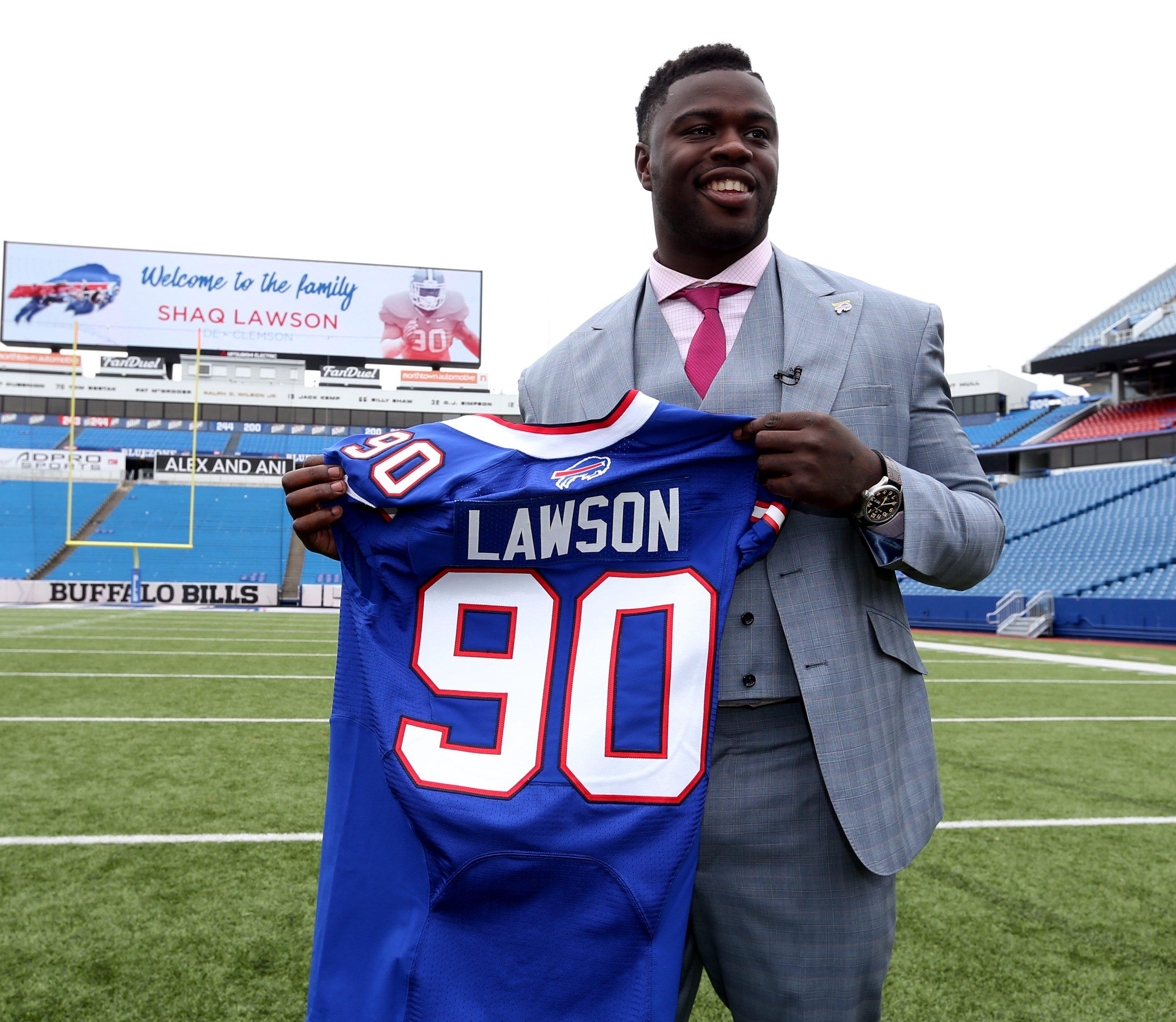 nfl Buffalo Bills Shaq Lawson ELITE Jerseys