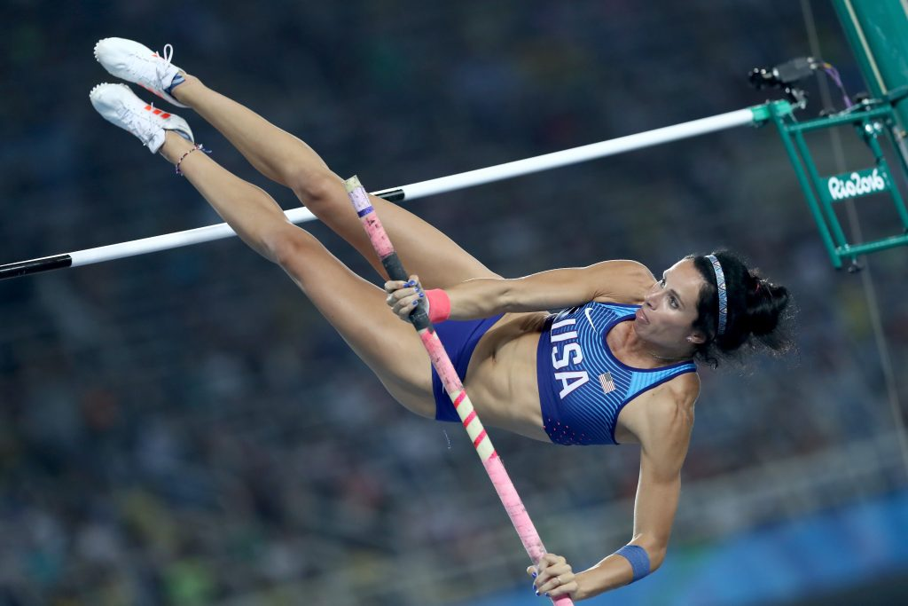 A sick Jenn Suhr can't defend title in Olympic pole vault