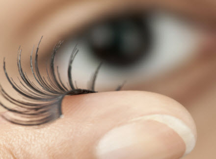 The Real Deal About Wearing False Eyelashes