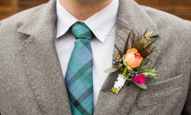 Alternative Boutonniere Ideas!