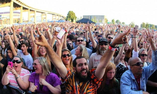 Canalside 2014: A long way from 'stroller gigs' at Lafayette Square