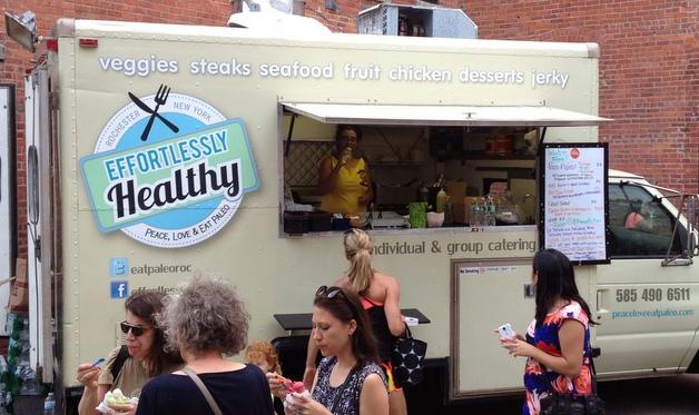 Paleo food truck rochester