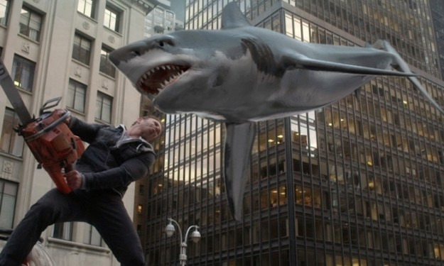 A Buffalo-tinged 'Sharknado 2' is stupid, silly fun
