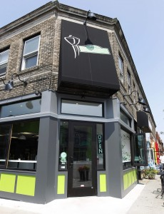 Newbury Street Cafe sits at 470 Elmwood Ave. (Sharon Cantillon / Buffalo News)