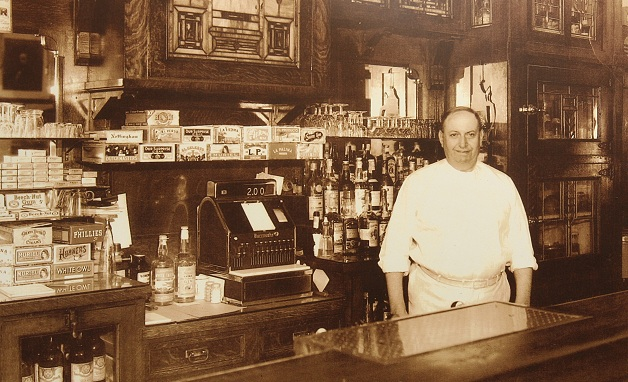 A throwback photo of Michael Ulrich from Ulrich's Tavern in 1933.