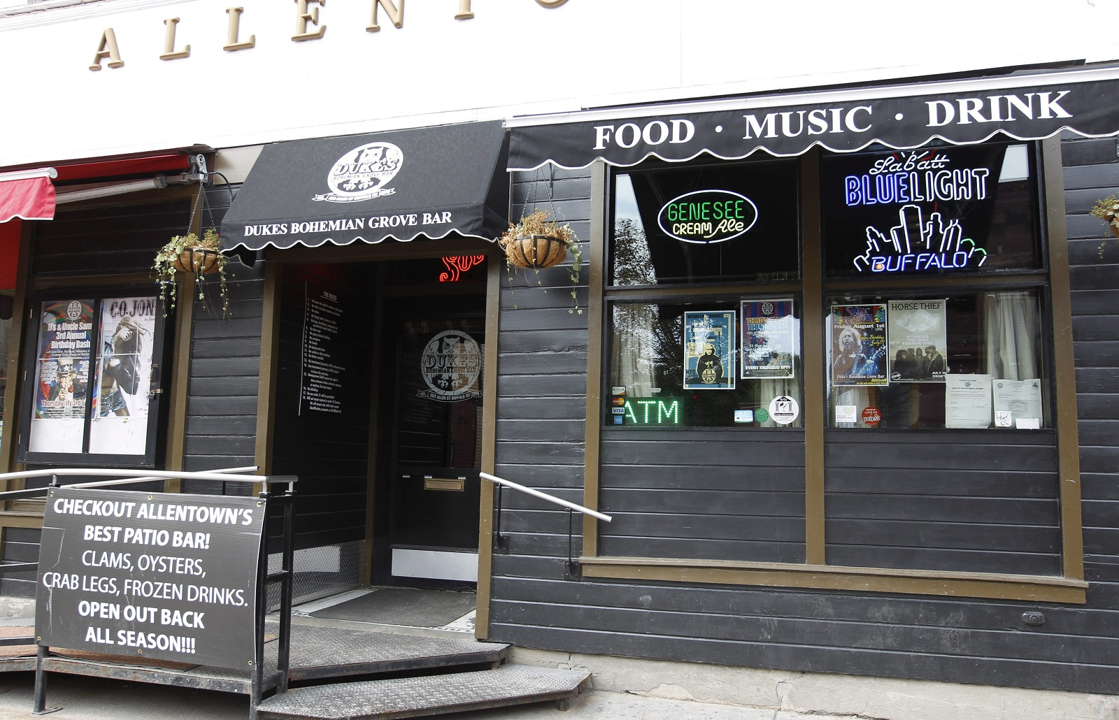 The exterior of Duke's Bohemian Grove Bar in Allentown. (Sharon Cantillon/Buffalo News file photo)