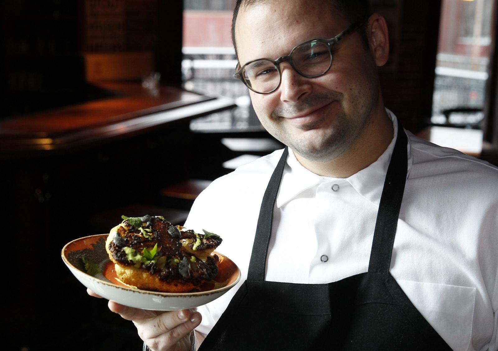 Buffalo Proper Executive Chef Edward Forster has crafted a popular brunch menu. (Sharon Cantillon/Buffalo News file photo)