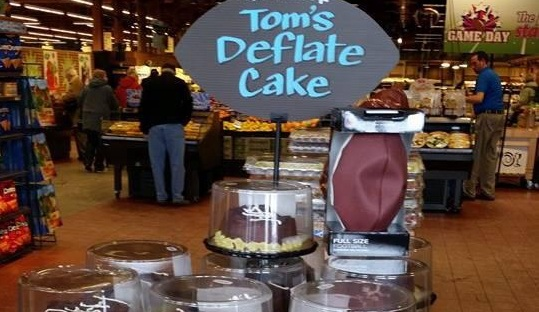 Wegmans dessert throws a jab at Tom Brady