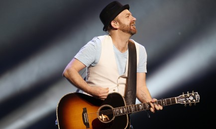 Sugarland guitarist Kristian Bush was part of the WYRK Acoustic Show bill. Above, Bush performs at the Niagara Fallsview Casino in 2012. (Harry Scull Jr./Buffalo News file photo)
