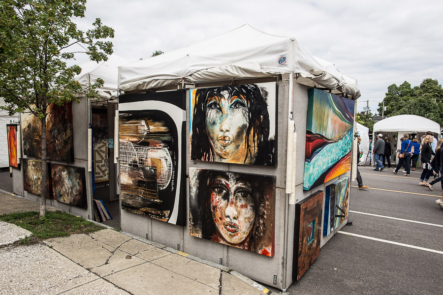 There's art of all kinds at the Allentown Art Festival. (Chuck Alaimo/Special to The News)