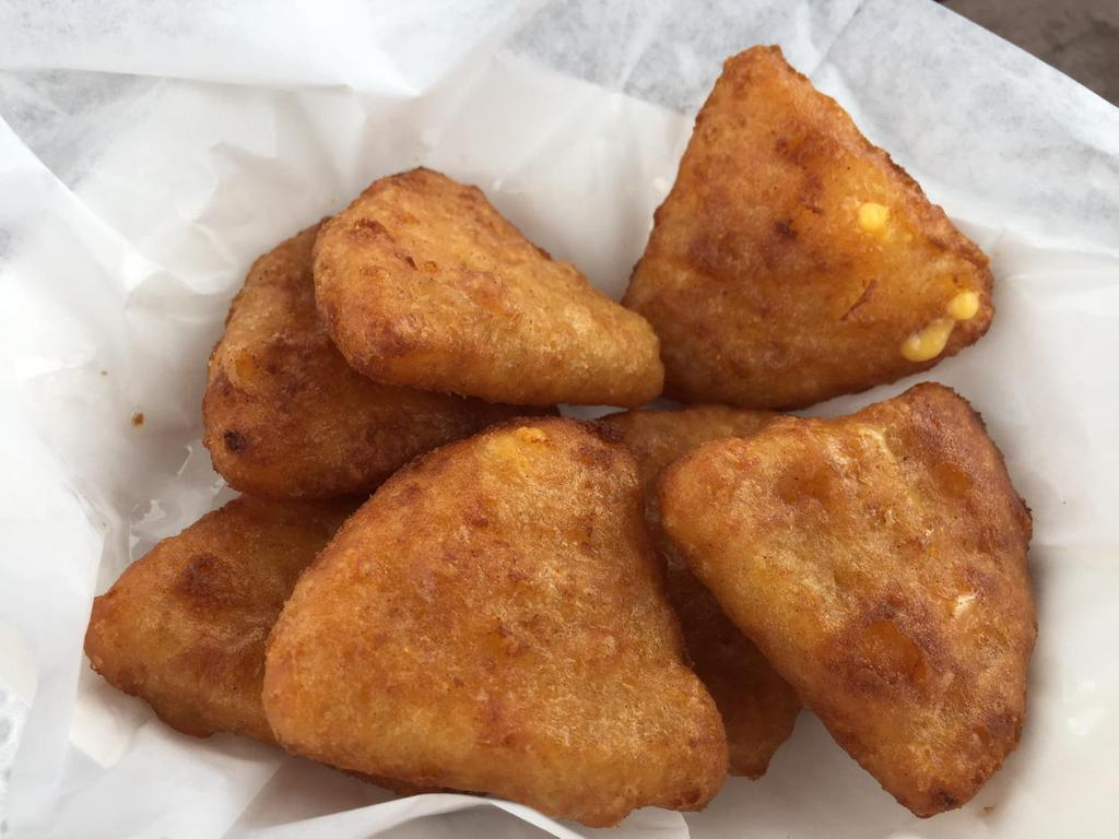Seven-piece deep-fried mac & cheese bites: $6. (Andrew Galarneau ...