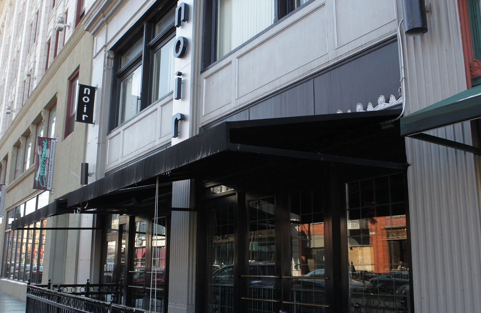 Noir Ultra Lounge on Chippewa will be renovated and rebranded as Local Kitchen and Bar, with a much different purpose than its predecessor. (Sharon Cantillon/Buffalo News)