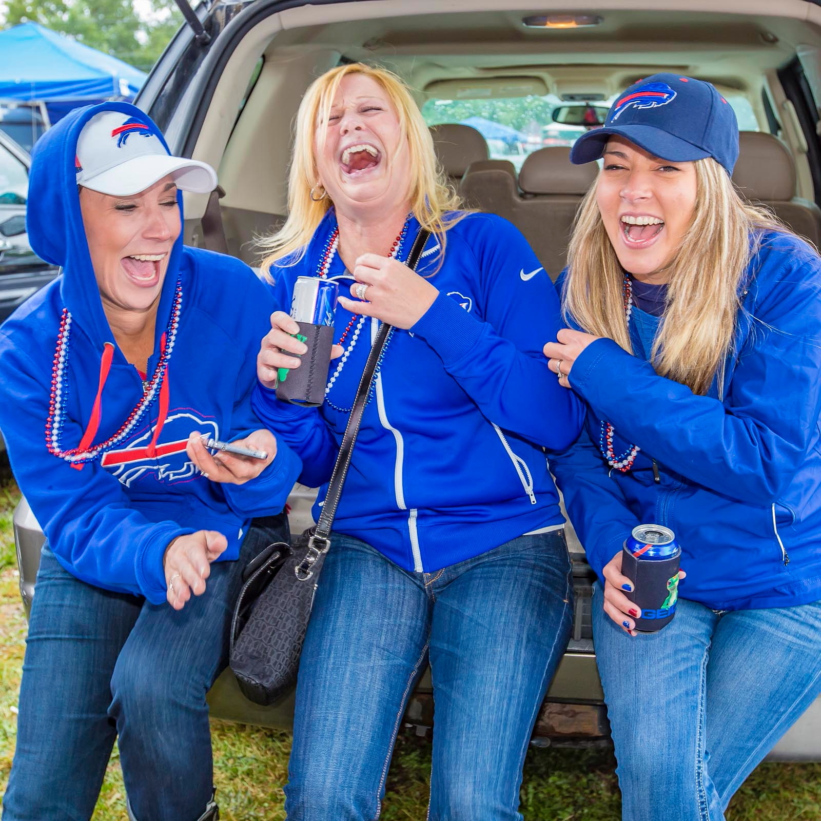 Is it possible to have too much fun while tailgating for a Bills game? (Don Nieman/Special to The News)