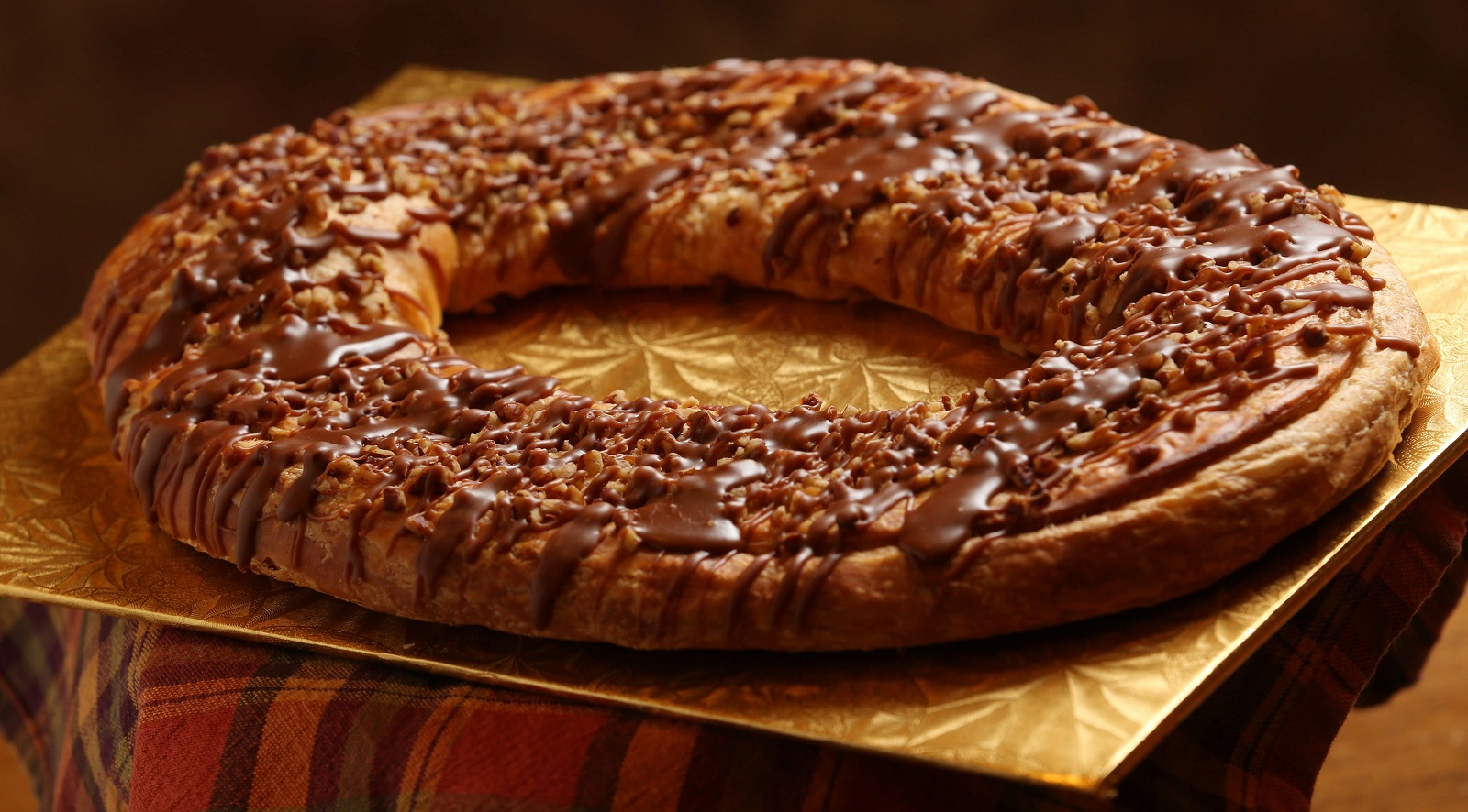 Ohlson's Bakery's praline pecan kringle is made with a flaky danish ...