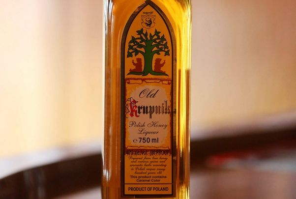 Vodka-based honey liqueur krupnik will be in high demand -- and low supply -- for Dyngus Day.