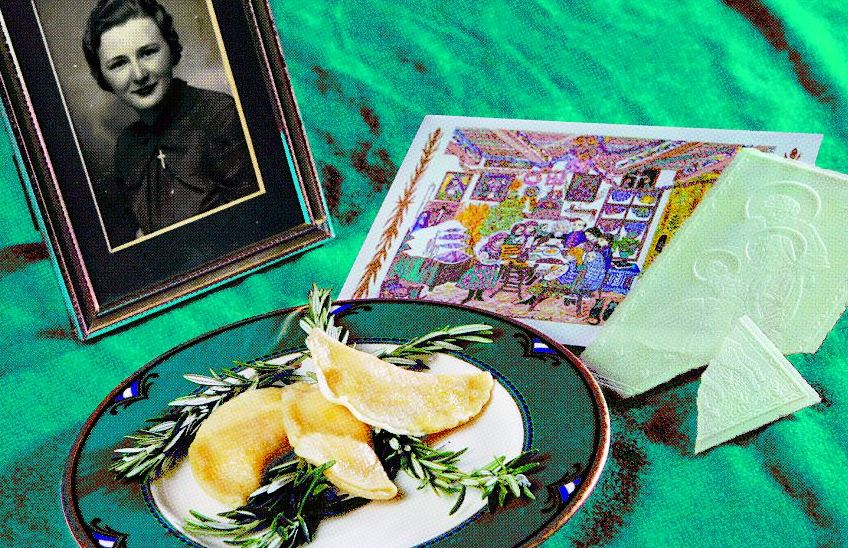 The pierogi made by Estelle Zoladz, late grandmother of Charity Vogel, News reporter. (Sharon Cantillon/Buffalo News file photo)