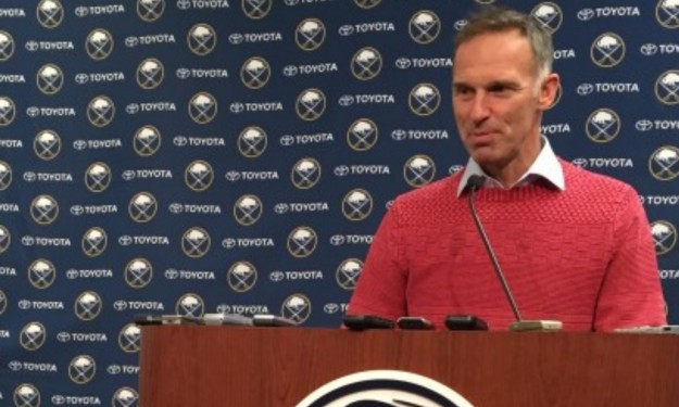 Hasek Returns To Buffalo For Sabres Jersey Retirement (audio)
