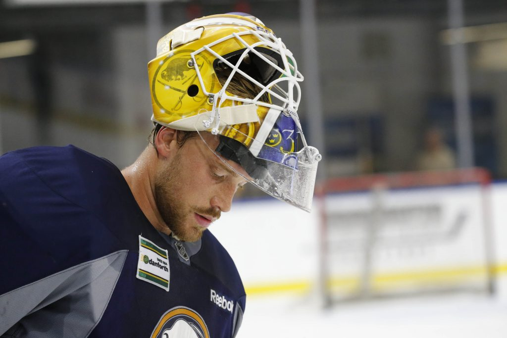 Sabres' Nilsson making the perfect first impression